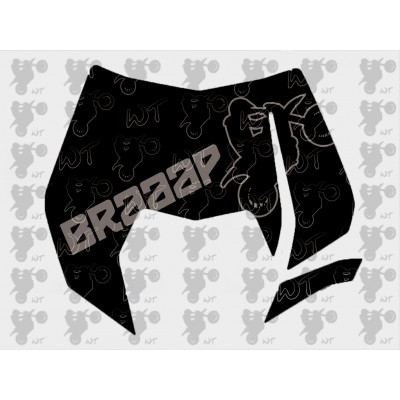 Stickerset EXC 08-11 Headmask Braaap