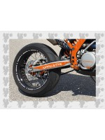 Stickerset EXC Orange (Frame Protector + swingarm)