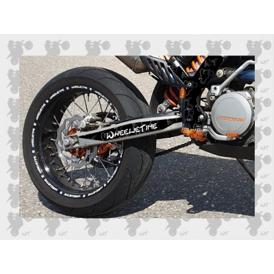 Stickerset EXC Black (Frame Protector + swingarm)